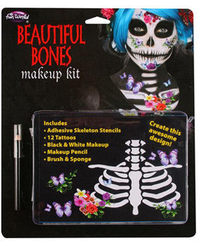 Skeleton Makeup Kit  Beautiful