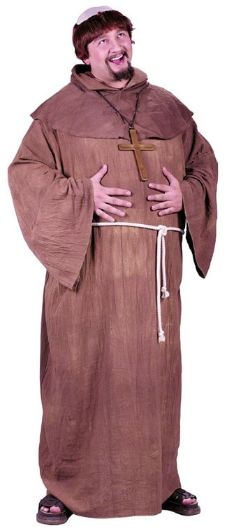 Morris Medieval Monk Plus Size - MaxWigs