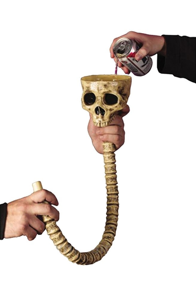 Morris Skull Beer Funnel - MaxWigs