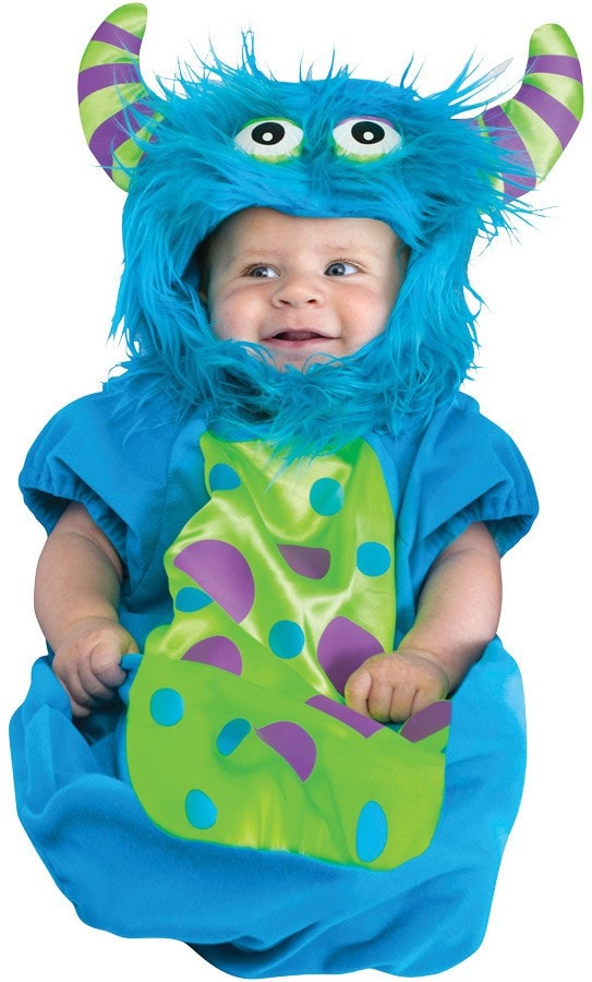 Morris Blue Monster Bunting 0-9 Mo - MaxWigs