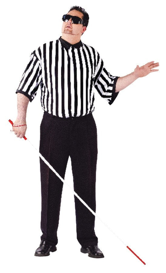 Morris Blind Referee Adult Plus - MaxWigs