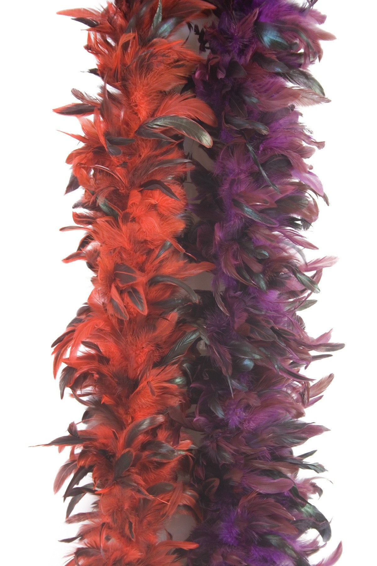 Morris Boa Deluxe 6ft Red - MaxWigs