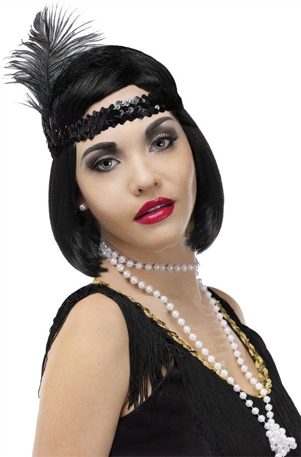 Morris Pearl Flapper Beads 60 Inches - MaxWigs