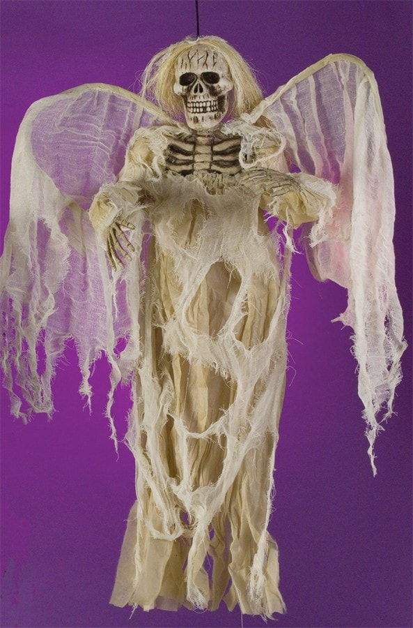Morris Hanging Angel Of Death Ivory - MaxWigs