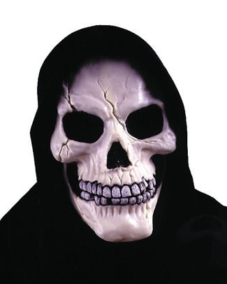 Morris Skull With Shroud Mask - MaxWigs
