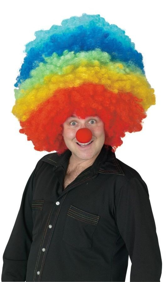Morris Clown Mega Wig - MaxWigs