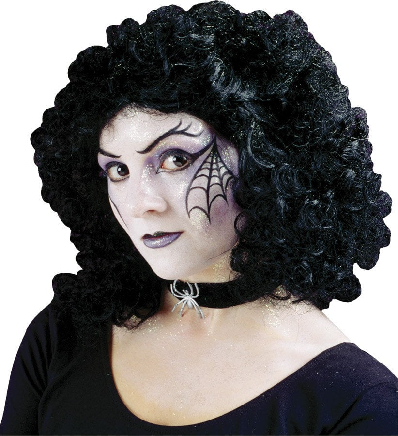 Morris Wig Curly Party Black - MaxWigs