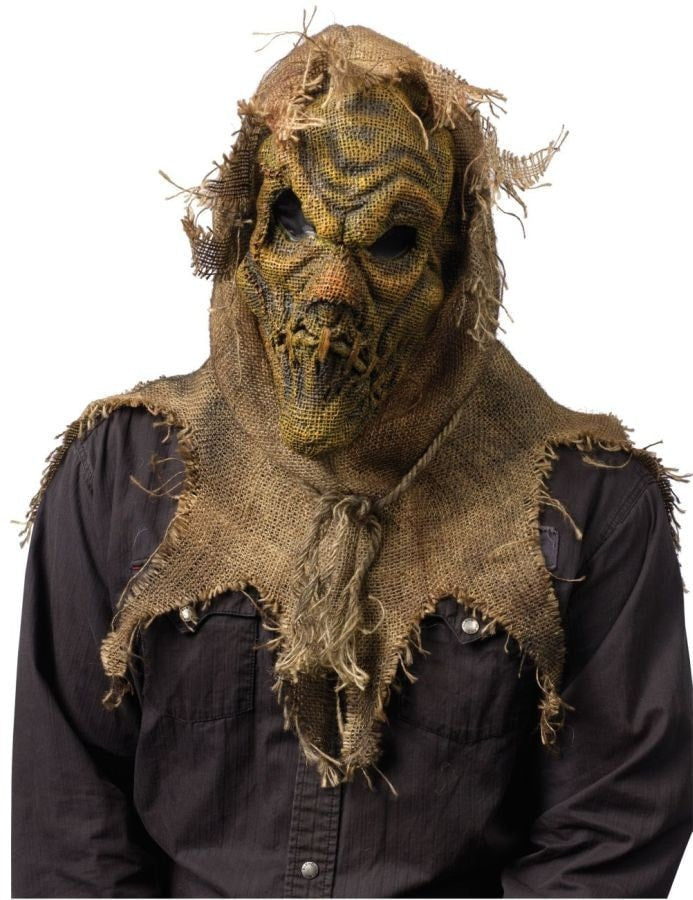 Morris Scarecrow Mask Natural - MaxWigs