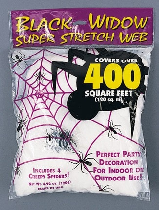 Morris Spider Web 120 Gr White - MaxWigs
