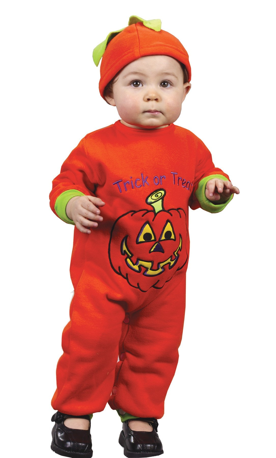 Morris Pumpkin Jumpsuit 12 To 24 Mths - MaxWigs