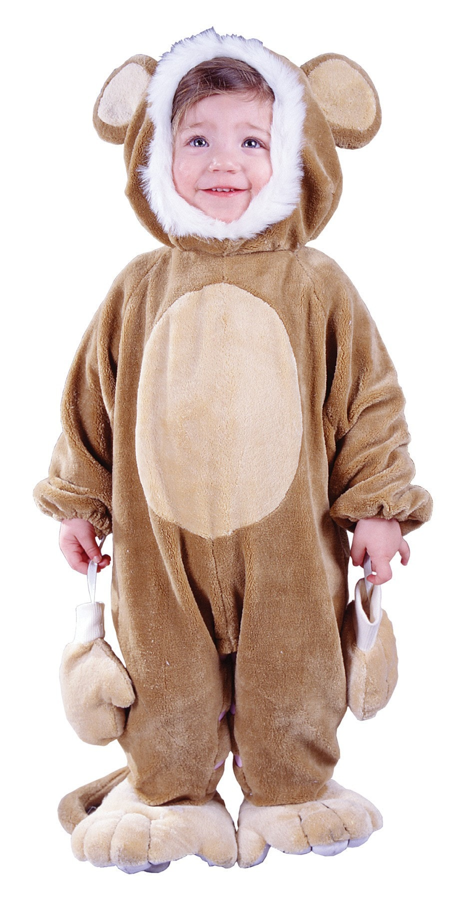 Morris Cuddly Monkey Todlr Costume - MaxWigs