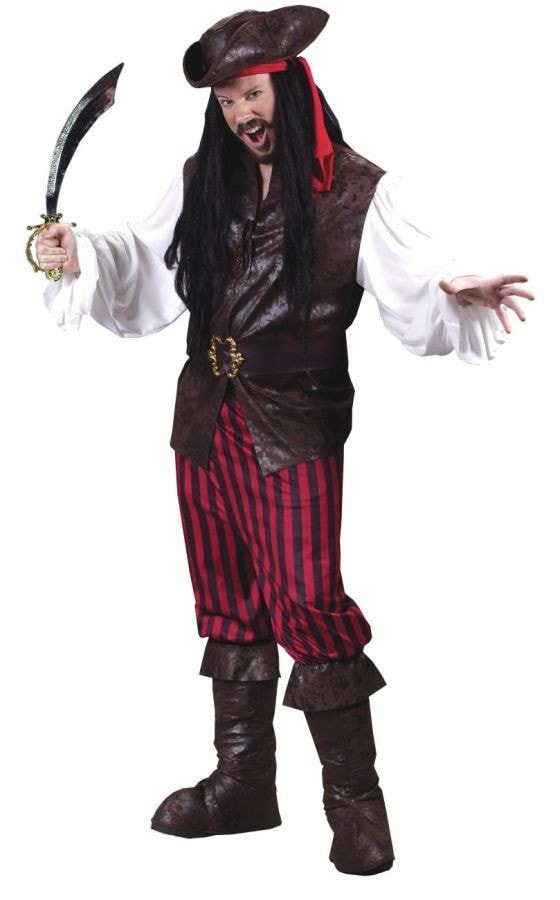 Morris High Seas Male Buccaneer Adult - MaxWigs