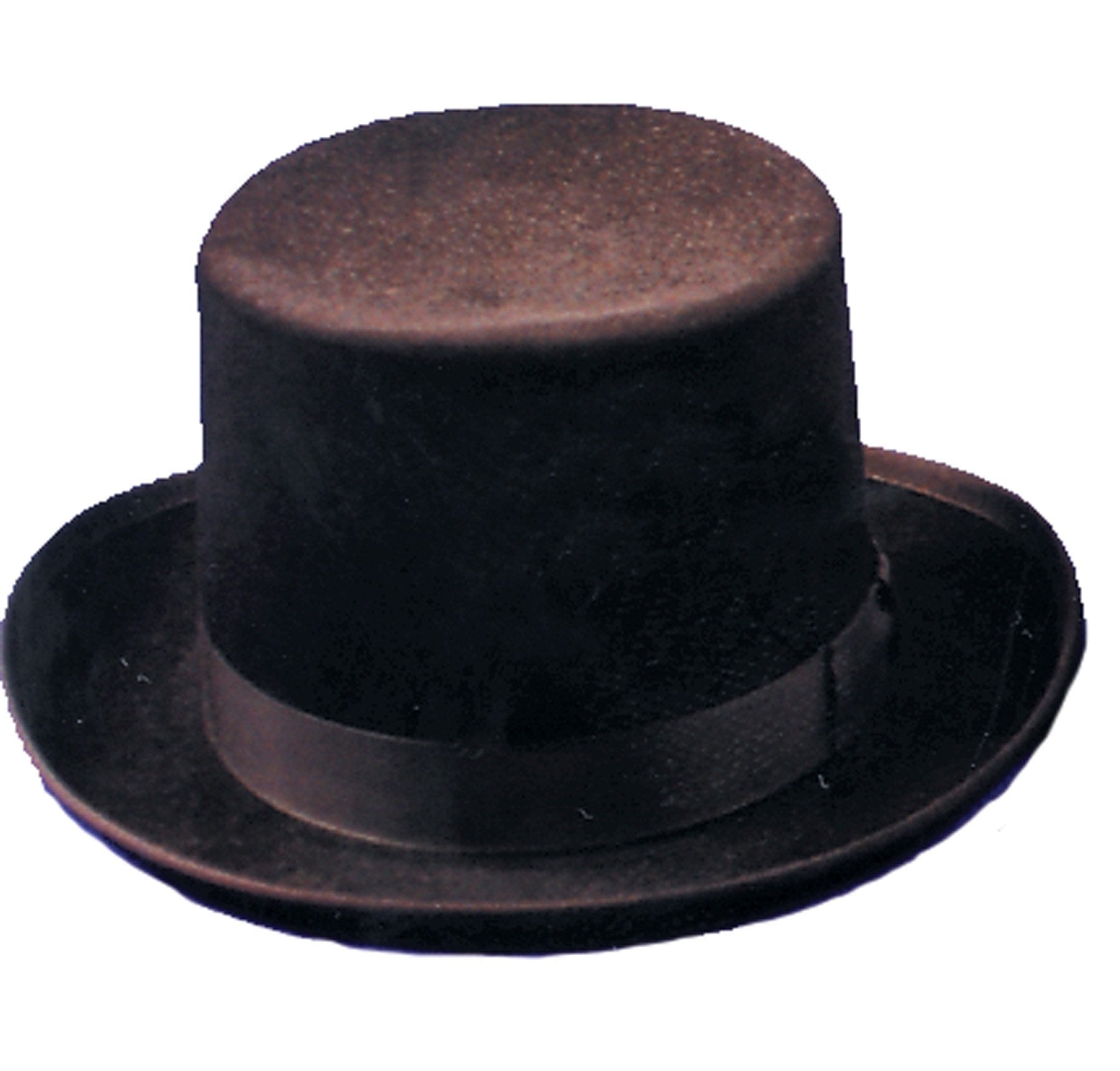 Morris Top Hat Felt Qual Black Lrg - MaxWigs