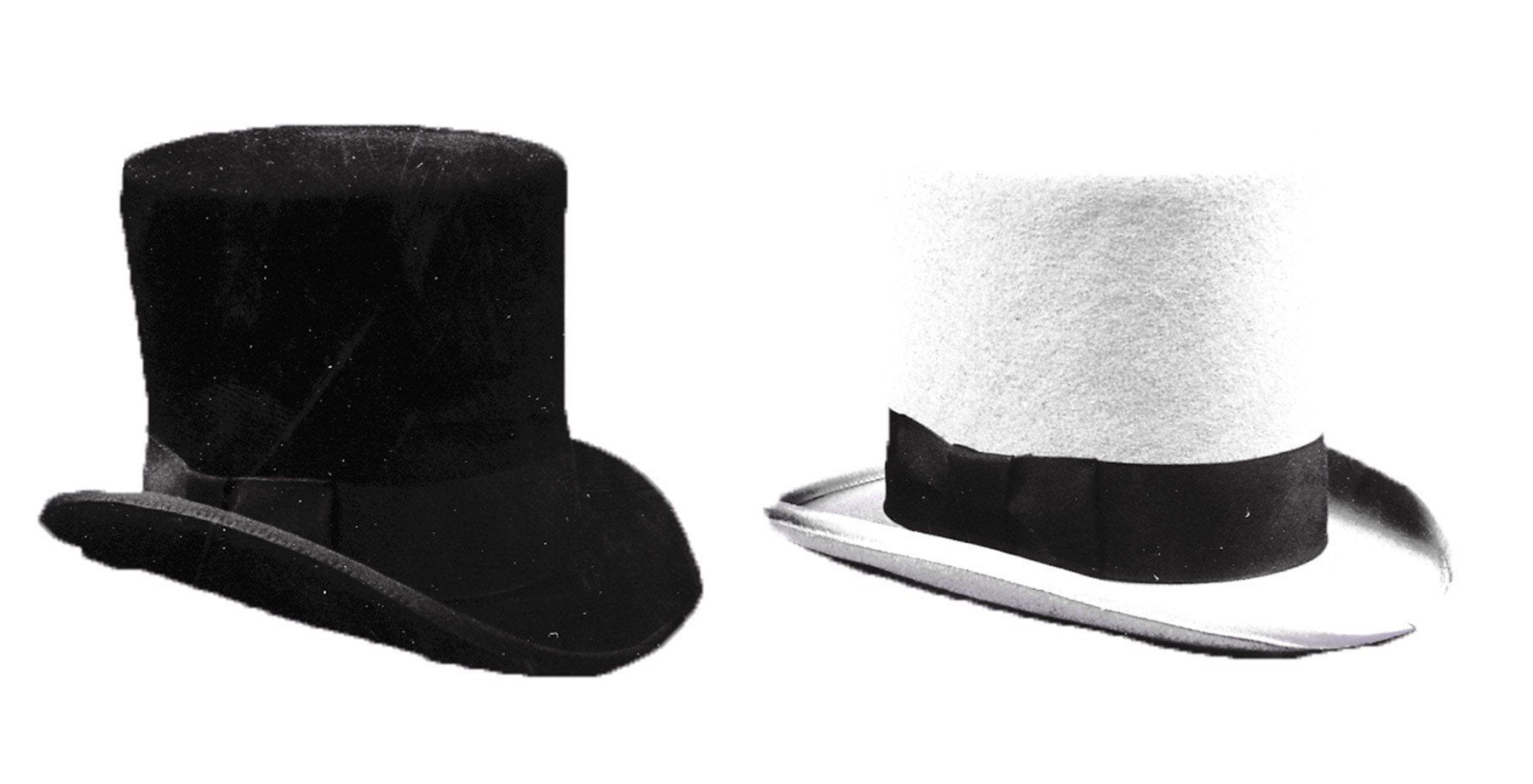 Morris Tall Hat Black Large - MaxWigs