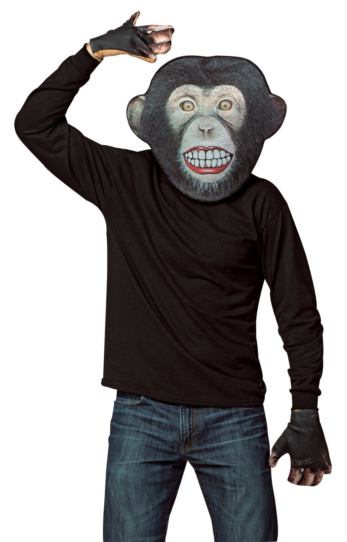 Morris Monkey Teeth Mask - MaxWigs