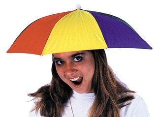 Morris Umbrella Hat 1 Sz - MaxWigs