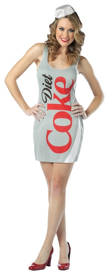 Morris Coca Cola Tank Dress Diet Coke - MaxWigs