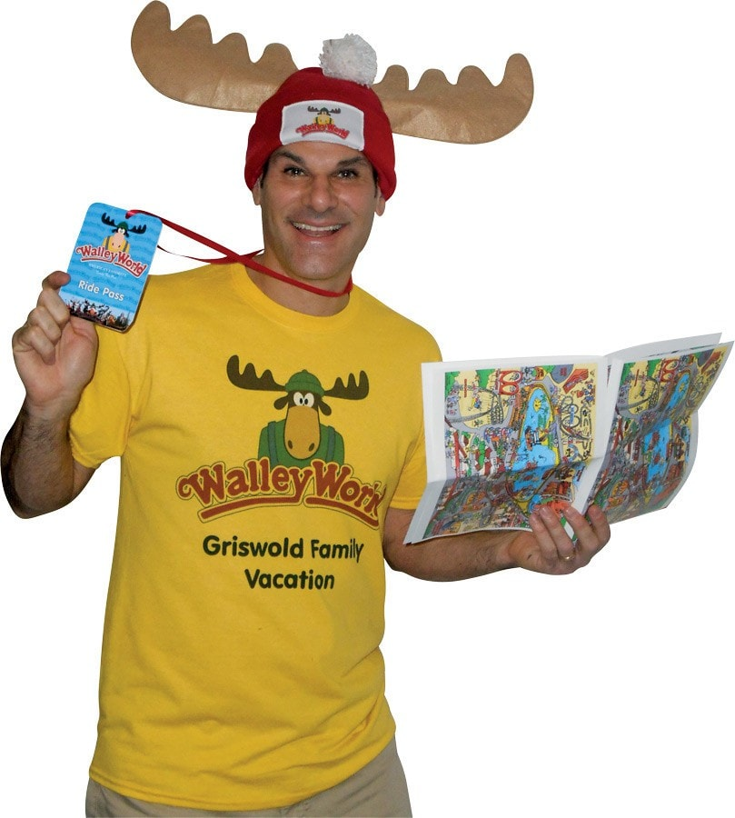 Morris Wally World Park Fan Costume K - MaxWigs