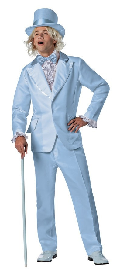 Morris Dumb And Dumber Harry Blue Tux - MaxWigs