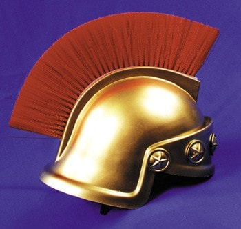 Morris Spartan Helmet Gold Only - MaxWigs