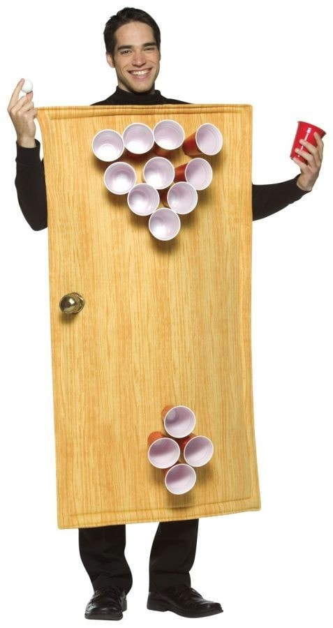 Morris Beer Pong Costume - MaxWigs