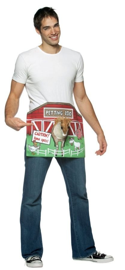 Morris Petting Zoo Adult Costume - MaxWigs