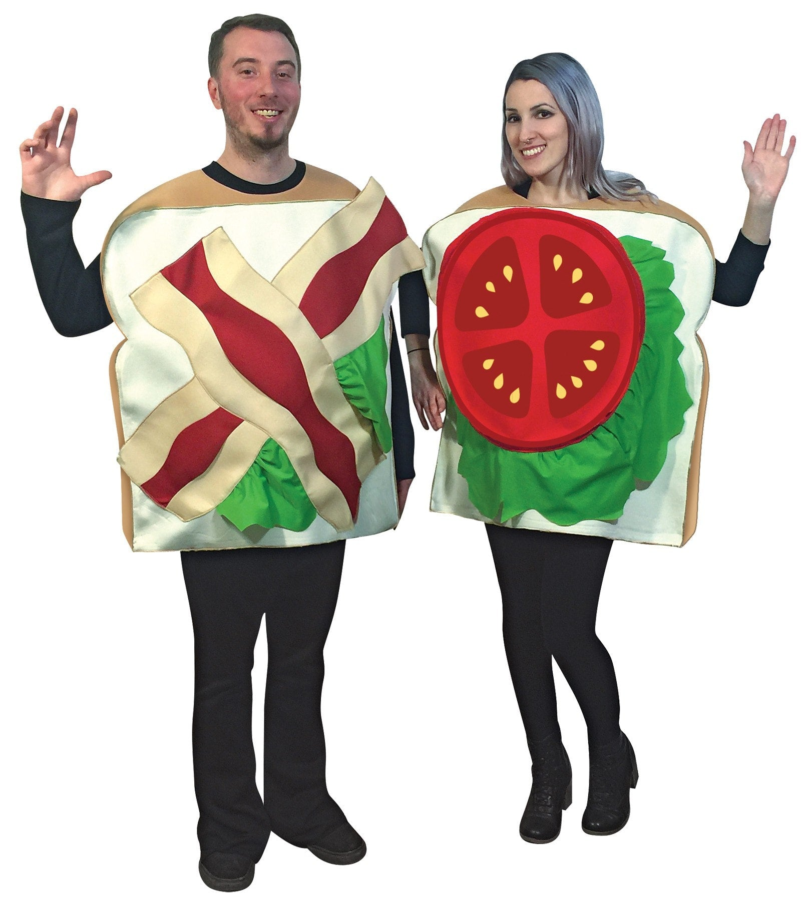 Morris Blt Couples Costume - MaxWigs
