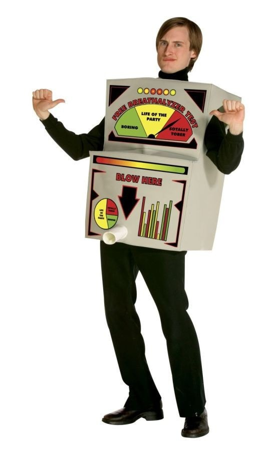 Morris Breathalyzer Costume - MaxWigs
