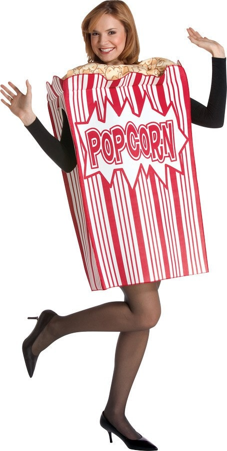 Morris Movie Night Popcorn Adult - MaxWigs