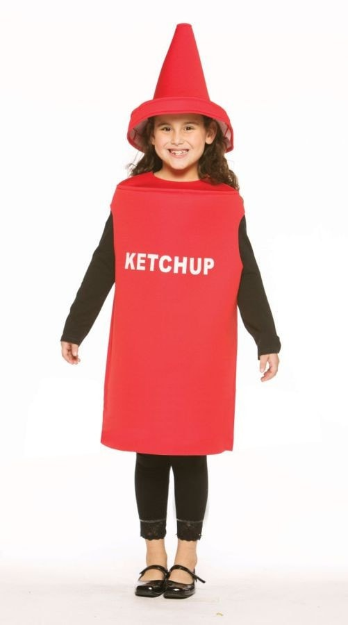 Morris Ketchup Child Costume 7-10 - MaxWigs