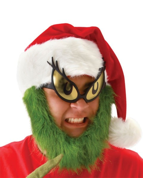 Morris Grinch Adult Glasses - MaxWigs