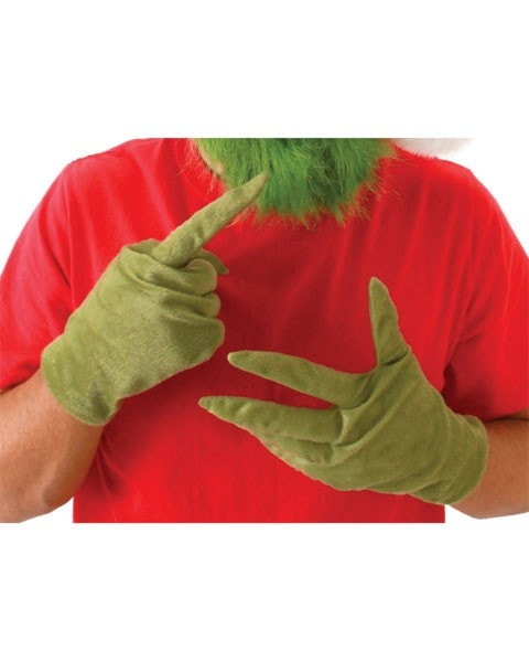 Morris Grinch Adult Gloves - MaxWigs