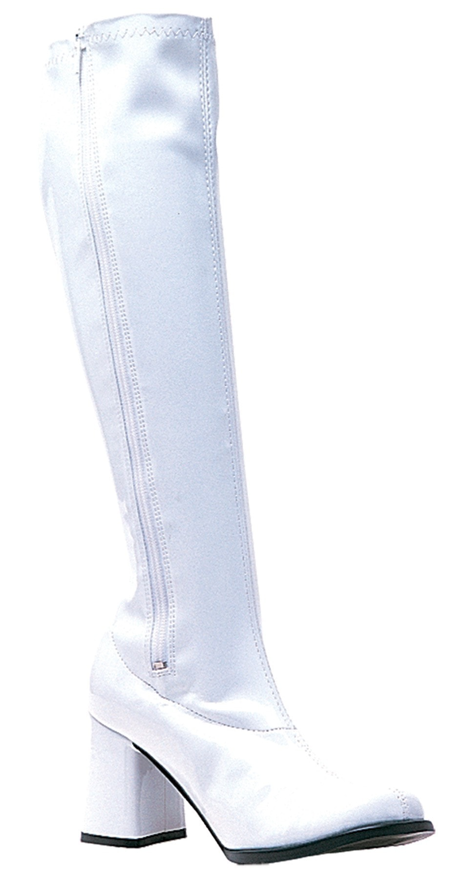 Morris Go Go Boot White Size 8 - MaxWigs