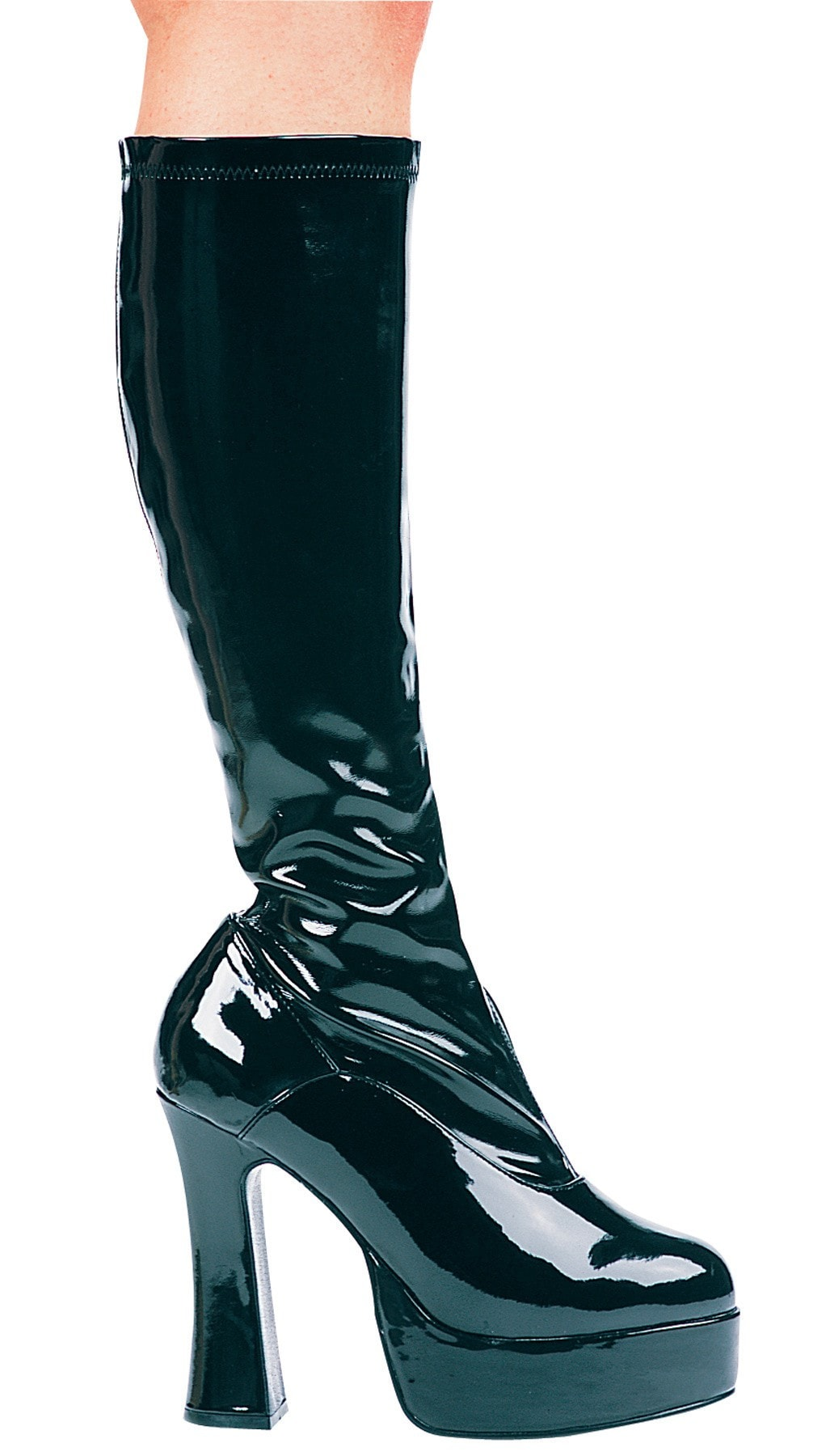 Morris Boot Chacha Black Size 8 - MaxWigs