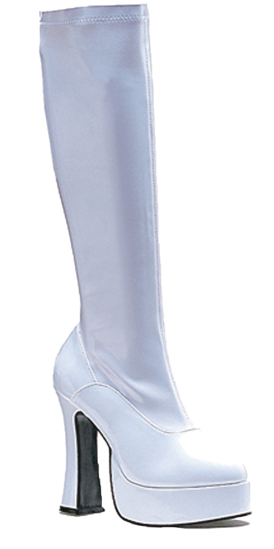 Morris Boot Chacha White Size 9 - MaxWigs