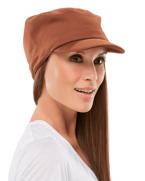 Jon Renau Fleece Military Hat - MaxWigs