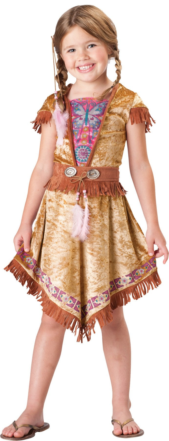 Morris Indian Maiden 2b Child Sz 4 - MaxWigs