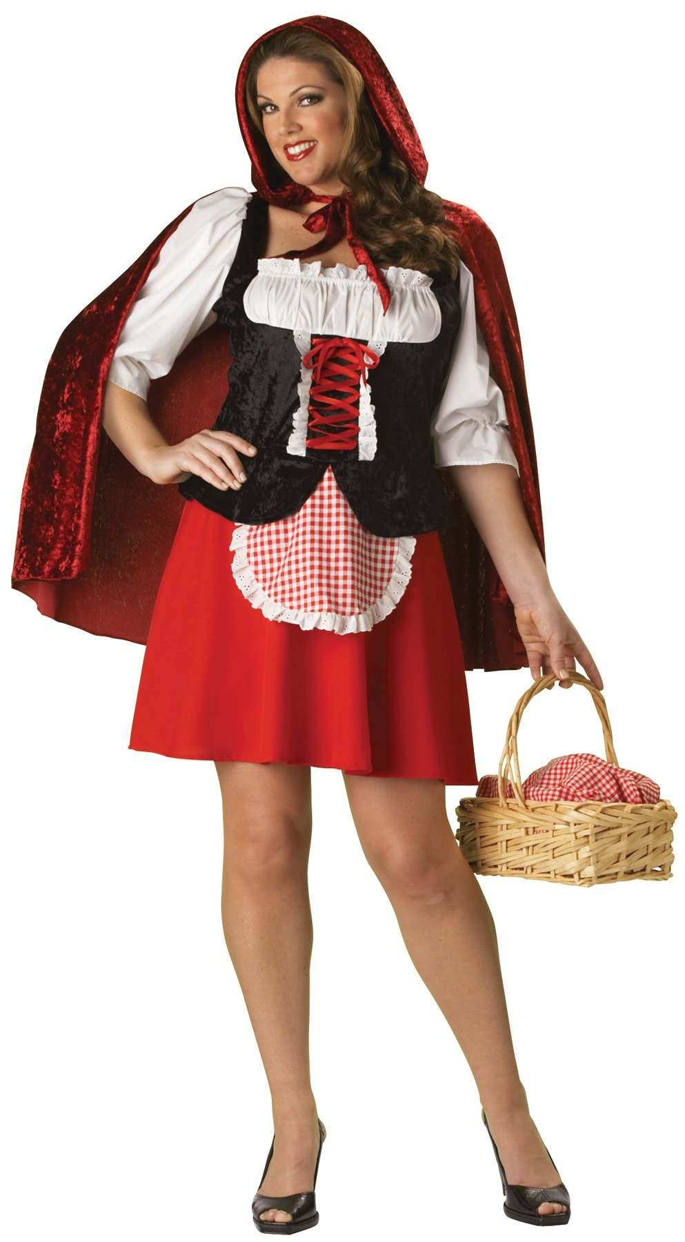 Morris Red Riding Hood 2xl - MaxWigs