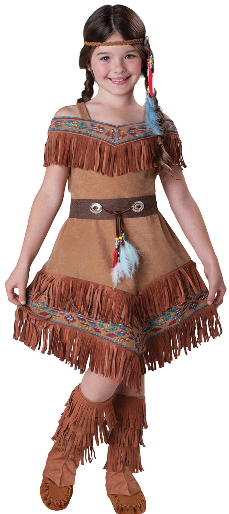 Morris Indian Maiden Child 8 - MaxWigs