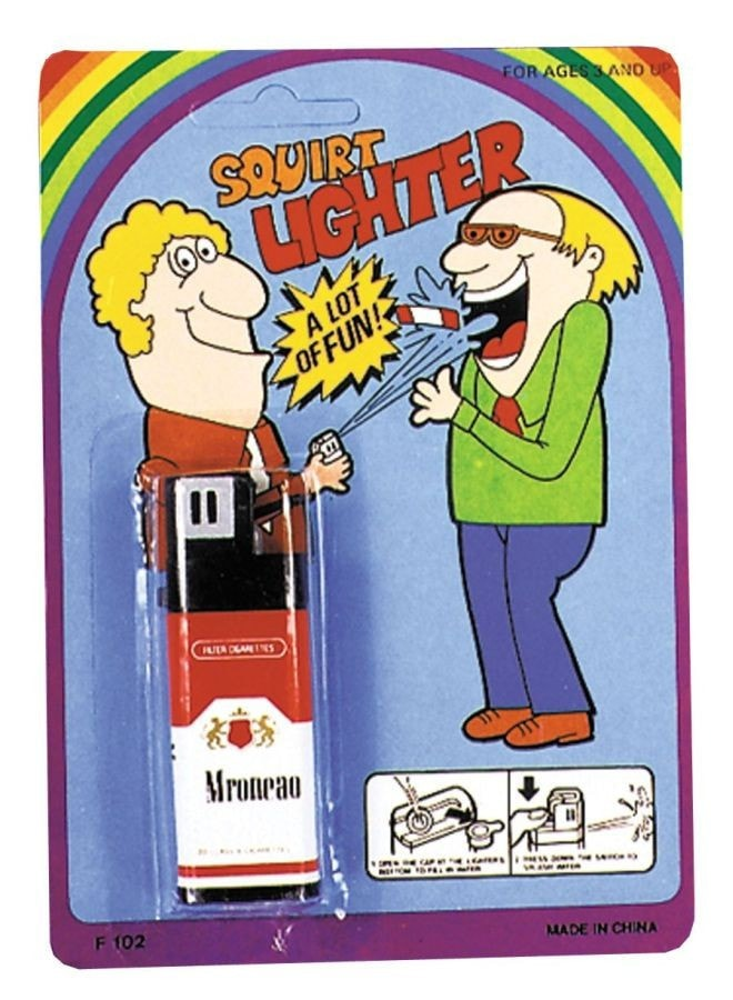 Morris Squirt Lighter Dlx Carded - MaxWigs