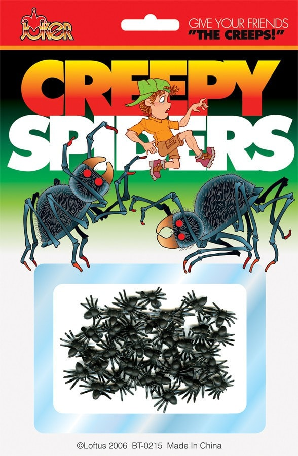 Morris Creepy Spiders - MaxWigs