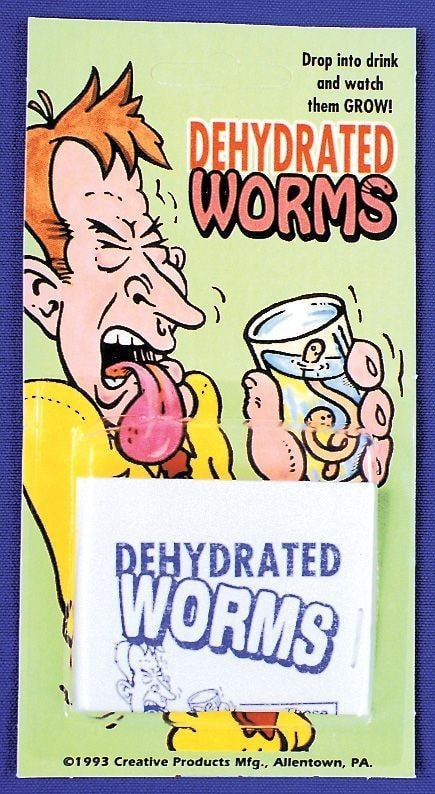 Morris Dehydrated Worms - MaxWigs