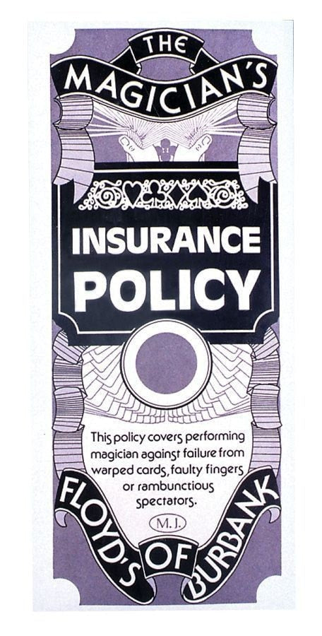 Morris Magicians Insurance Policy - MaxWigs