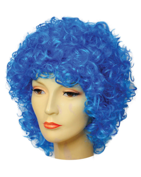 Discount Version Long and Curly Clown Wig CLEARANCE