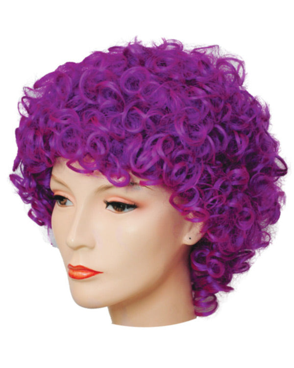 Long and Curly Clown Wig Deluxe Version CLEARANCE
