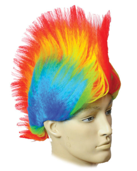 Awesome Rainbow Clown Wig