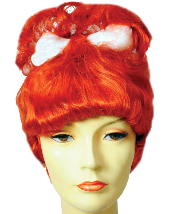 Pebbles Flintstones Wig with Bone by Lacey Costume Wigs – MaxWigs a01aae81e95f