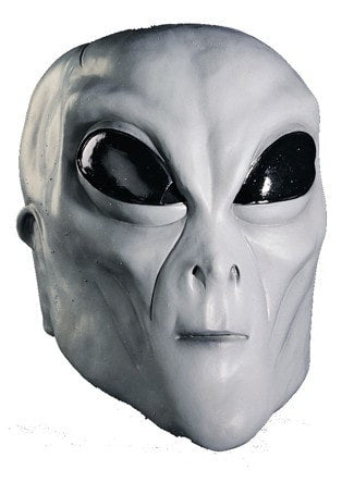 Morris Alien Grey Mask - MaxWigs