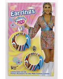 Morris Mod Earrings - MaxWigs