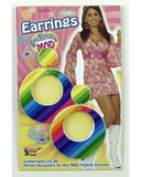 Morris Mod Rainbow Earrings - MaxWigs